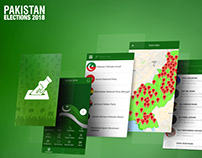 Pakistan Elections 2018 Mobile Application