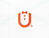 GuestU — Logo design.