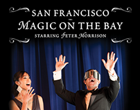 "San Francisco ""Magic On The Bay"" rack card"