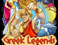 "Slot machine - ""Greek legends"""