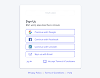 The essential guide to enterprise login and sign up UX