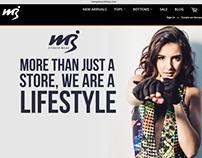 Mango Brazil Website Project