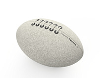 Wool Rugby Ball