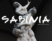 Sabinia - Free font
