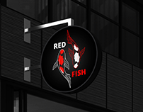 Red Fish -Branding (concept, logo and website)