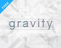 Gravity – Free sans typeface
