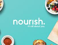 Nourish – Visual Identity Design