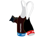 [Mock-Up] PH Cycling Team Bib Shorts Pro