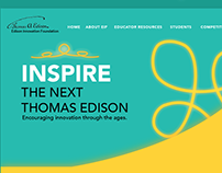 Edison Innovation Foundation Website Concept