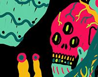 Sciamano scheletrone