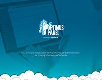 Optimus Panel, Plataforma de Administración de Hosting