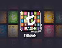 Dilmah Tea Radio App Ui Design