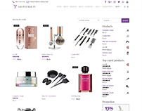 Shop Page - Salon WordPress Theme