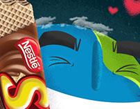 Nestlé - Susy // Ilustración Día de la Tierra.