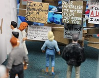 Exhibit Design: Occupy Wall Street
