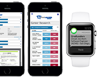 GradLeaders | Student Product Wireframe