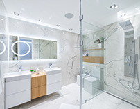 Modern and Elegant Bathroom Interior