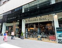 Mercedes-Benz pop-up shop, Westfield–Stratford
