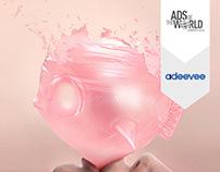 Mentos Bubble Gum / Poster