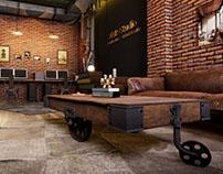 Unreal Engine 4 : Loft Office