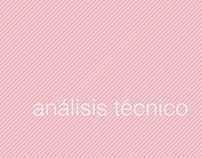 Análisis técnico. Análisis de Intervención -7 semestre