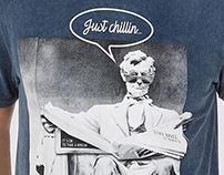 Just Chillin - T-shirt Design