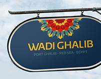 Wadi Ghalib - Logo & identity design