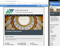 Colorado Disability Funding Committee Web site