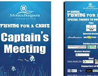 4th Annual Fishing for a Cause Marketing Material