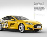 Tesla Model S Mockup