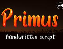 Primus Color Font