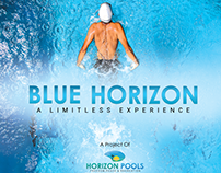 Horizon Pools Branding