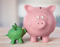 "Migros Bank Fonds Campaign –""Piggy bank"""