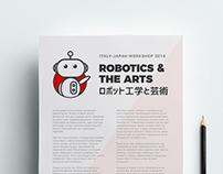 Logo Design - Robotics & The Arts