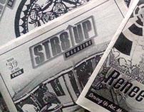 Straight Up Magazine Visual Update