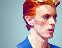 David - Low Poly Portrait