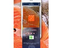 Seafood online supermarket