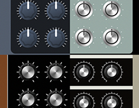 Synth knobs