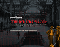 Digital Product for Penn Station