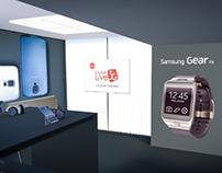 Samsung Exhibition Displays