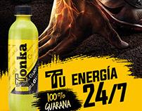 Gráfica Tonka Energy Drink