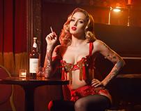 Emily Shephard - Burlesque