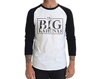 The Big Kahunas t-shirt design
