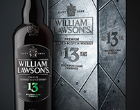 William Lawson's 13 packaging