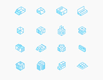 Futuristic Icon Set