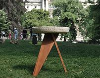 Shiro: a mushroom based stool