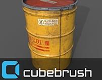 Salvage drum (barrel)