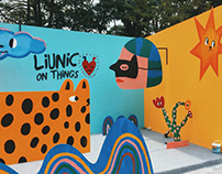 Installation for Liunic on Things at OnOFF Festival