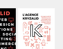 KRYZALID Web Agency - Identity