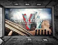 Civilization V (Pc Game) Web Design